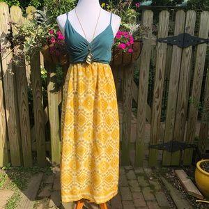 Anthropologie Edme & Esyllte Cuernavaca Maxi Dress
